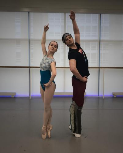 Rehearsal for Paquita